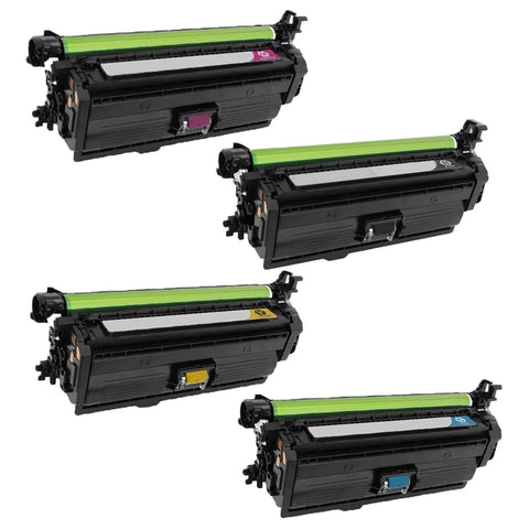 Compatible HP 654X / 654A 4ps Set Laser Toner Cartridge BK/C/M/Y