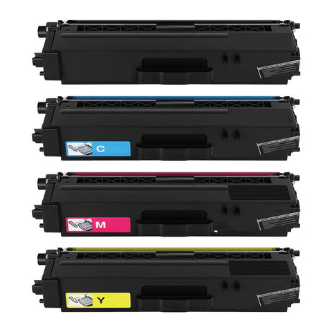 Compatible BROTHER TN-336 4pcs Laser Toner Cartridge Set BK/C/M/Y