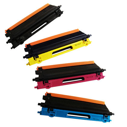 BROTHER TN433 4pcs Combo Laser Toner Cartridge High Yield BKCMY