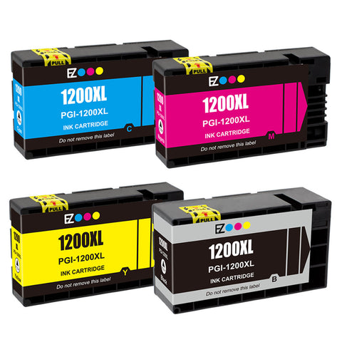 Compatible CANON PGI-1200XL INK / INKJET Cartridge Set BK/C/M/Y