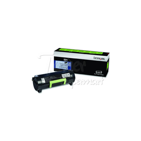 Remanufactured LEXMARK 50F1000 -501 Black Laser Toner Cartridge