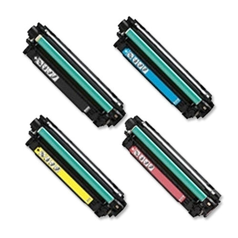 Compatible HP 651A Set Laser Toner Cartridge CE340A CE341A CE342A CE343A