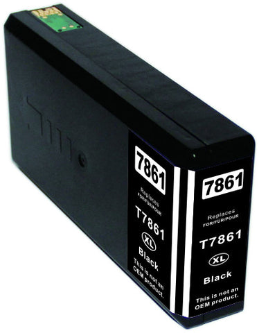 Compatible Epson T786XL120 Black Ink Cartridge High Yield
