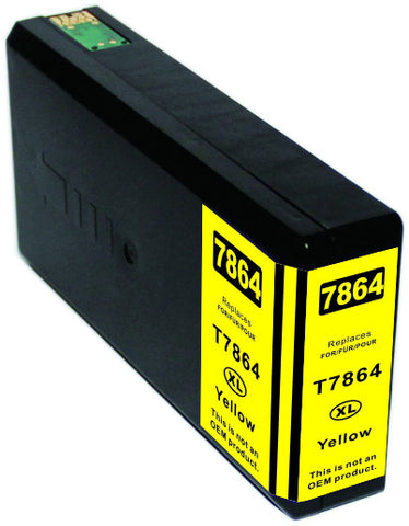 Compatible Epson T786XL420 Yellow Ink Cartridge High Yield