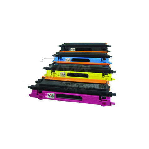 Compatible BROTHER TN-115 4pcs Laser Toner Cartridge Set BK/C/M/Y