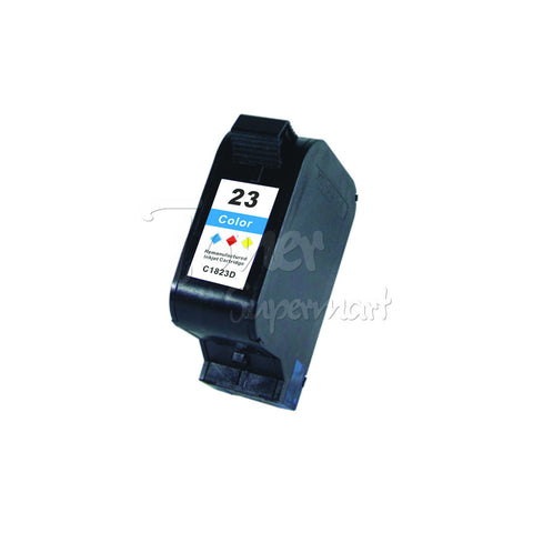 Remanufactured HP 23 Tri-Color INK / INKJET Cartridge