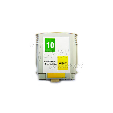 Compatible HP 10 Yellow INK / INKJET Cartridge