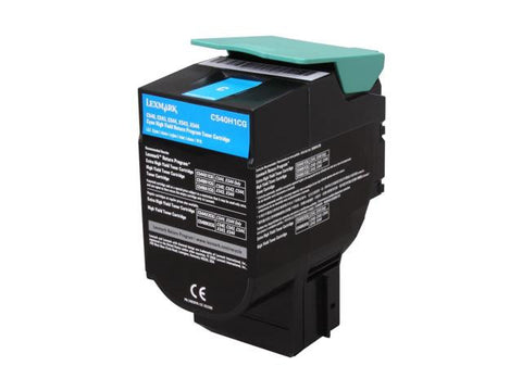 Compatible LEXMARK C540H1CG Cyan Laser Toner Cartridge High Yield