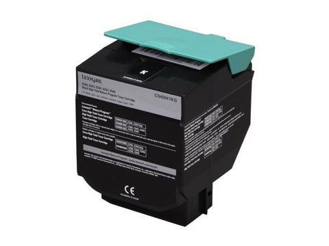 Compatible LEXMARK C540H1KG Black Laser Toner Cartridge High Yield
