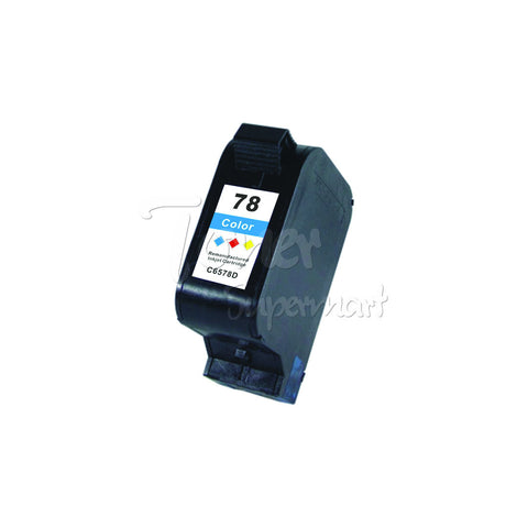 Remanufactured HP 78 Tri-Color INK / INKJET Cartridge