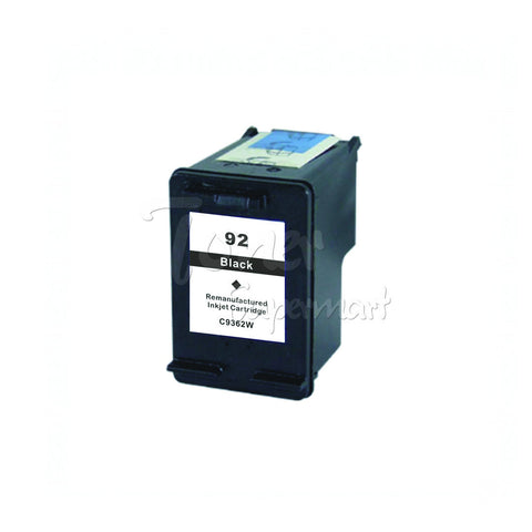Remanufactured HP 92 Black INK / INKJET Cartridge