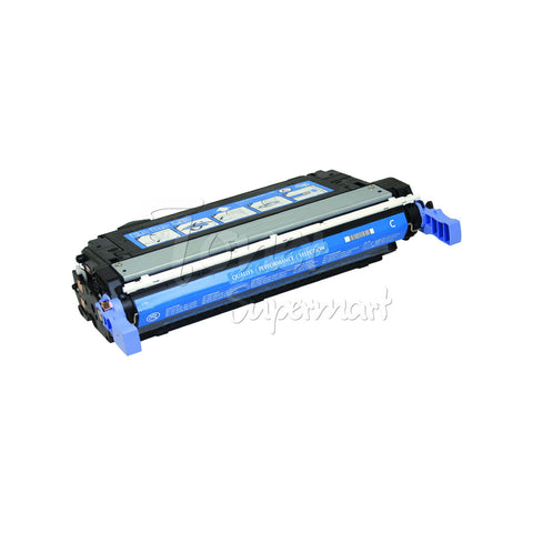 Remanufactured HP CB401A Cyan Laser Toner Cartridge (HP 642A) for LaserJet CP4005