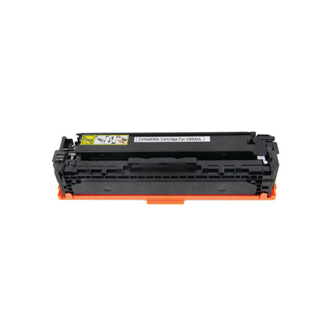 Compatible HP CB542A Yellow Laser Toner Cartridge (HP 125A)