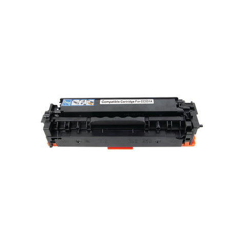 HP CC531A / 304A Cyan Toner Cartridge,Compatible