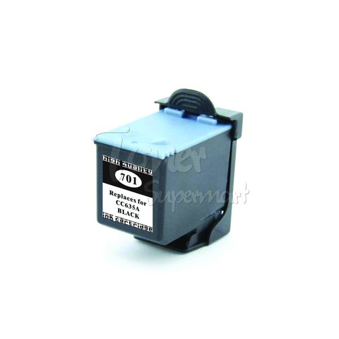 Remanufactured HP 701 Black INK / INKJET Cartridge