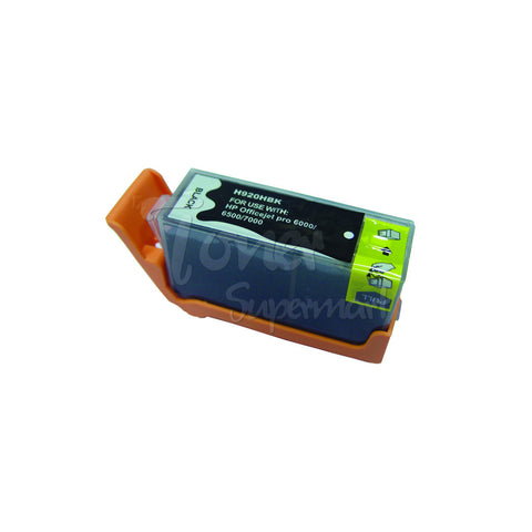 Compatible HP 920XL Black High Yield INK / INKJET Cartridge (CD975AC)