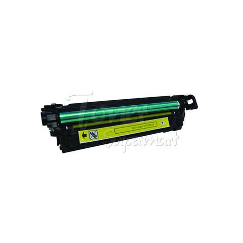 Compatible HP CE252A 504A Yellow High Quality Laser Toner Cartridge