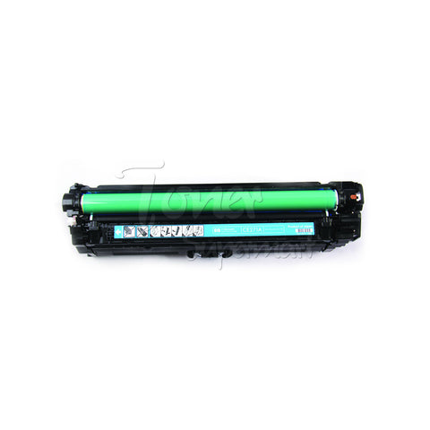 Compatible CE271A (HP 650A) Cyan Laser Toner Cartridge (HP 650A)