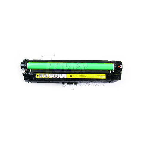 Compatible CE272A (HP 650A) Yellow Laser Toner Cartridge (HP 650A)