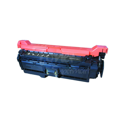 Remanufactured HP CE400A / 507A Black Toner Cartridge