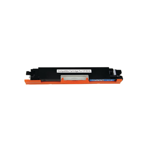 Compatible HP 130A (CF351A) Cyan Laser Toner Cartridge