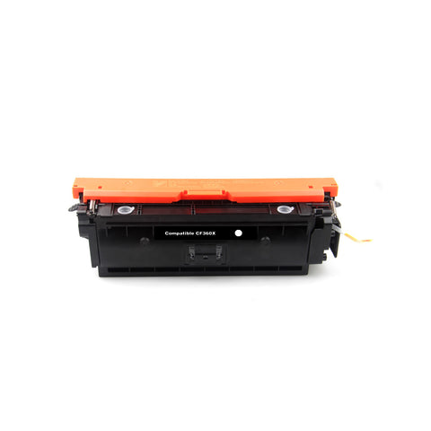 Compatible HP CF360X / 508X Black Toner Cartridge High Yield