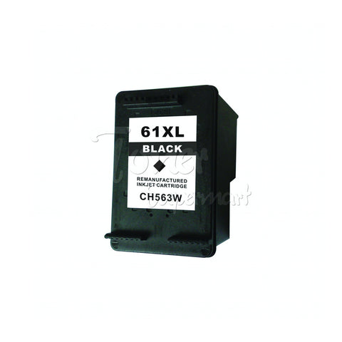Refurbished HP 61XL Black High Yield INK / INKJET Cartridge