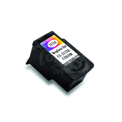 Remanufactured CANON CL-211XL Color INK / INKJET Cartridge