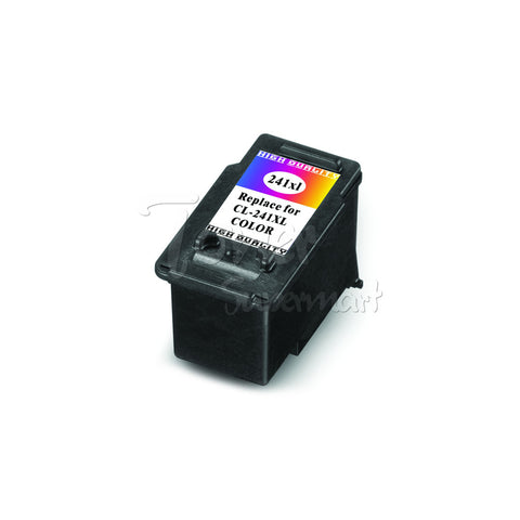 Remanufactured CANON CL-241XL Tri-Color INK / INKJET Cartridge