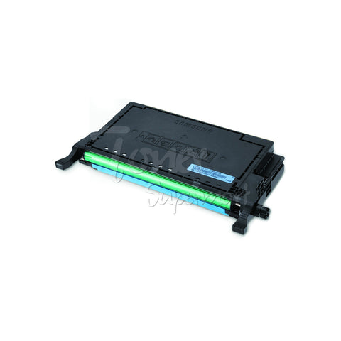 Remanufactured SAMSUNG CLT-C508L Cyan High Yield Laser Toner Cartridge