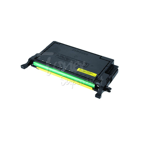 Remanufactured SAMSUNG CLT-Y508L Yellow High Yield Laser Toner Cartridge