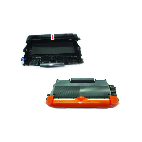 BROTHER DR-630+TN660 Drum Unit + Black Laser Toner Cartridge Combo,Compatible