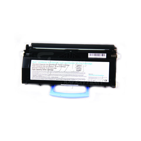 Remanufactured DELL 6000 Page Black Laser Toner Cartridge For Dell 2330 / 2350 / 330-2667