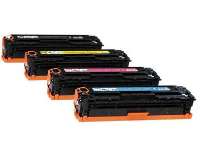 Compatible HP 312A Set Laser Toner Cartridge CF380X CF381A CF382A CF383A