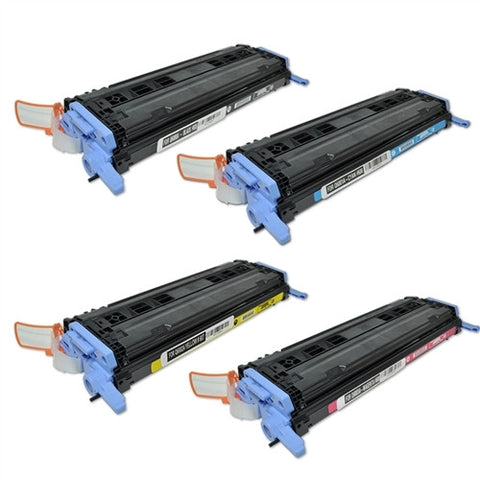 Compatible HP 124A Set Laser Toner Cartridge