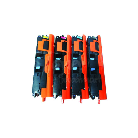 Compatible HP 122A (Q3960A Q3961A Q3962A Q3963A) 4pcs Laser Toner Cartridge Set BK/C/M/Y