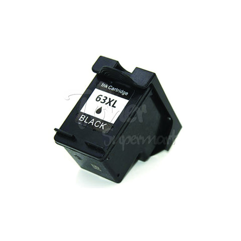 Remanufactured HP 63XL (HP F6U64AN) Black High Yield Ink Cartridge