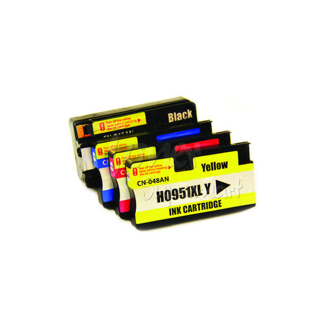 Compatible HP 950XL / 951XL 4pcs INK / INKJET Cartridge Combo BK/C/M/Y
