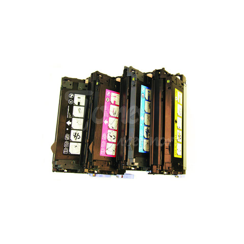 Remanufatured HP 644A Laser Toner Cartridge Combo BK/C/M/Y (Q6460A,Q6461A,Q6462A,Q6463A)