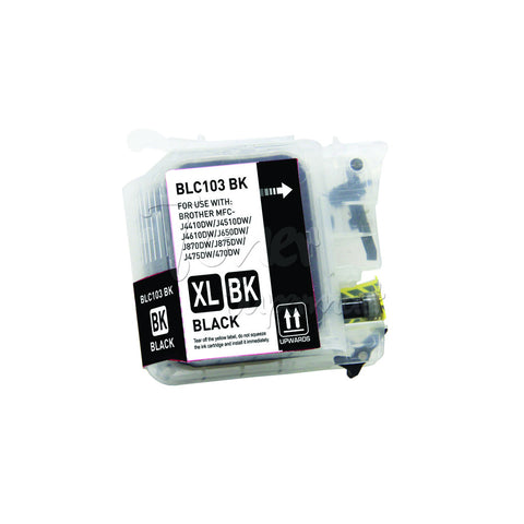 Compatible BROTHER LC103BK High Yield Black INK / INKJET Cartridge