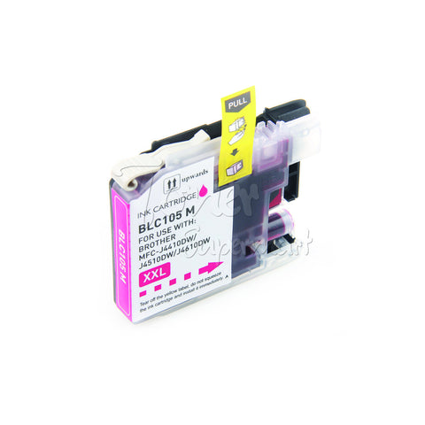 Compatible BROTHER LC105M Magenta INK / INKJET Cartridge