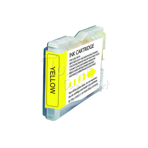 Compatible BROTHER LC51Y Yellow INK / INKJET Cartridge