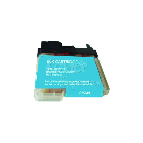Compatible BROTHER LC65C Cyan INK / INKJET Cartridge
