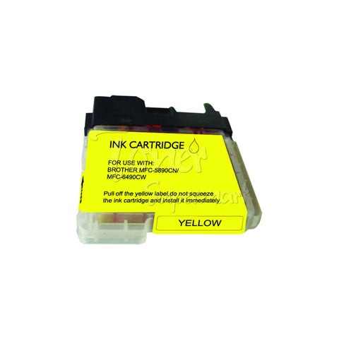 Compatible BROTHER LC65Y Yellow INK / INKJET Cartridge