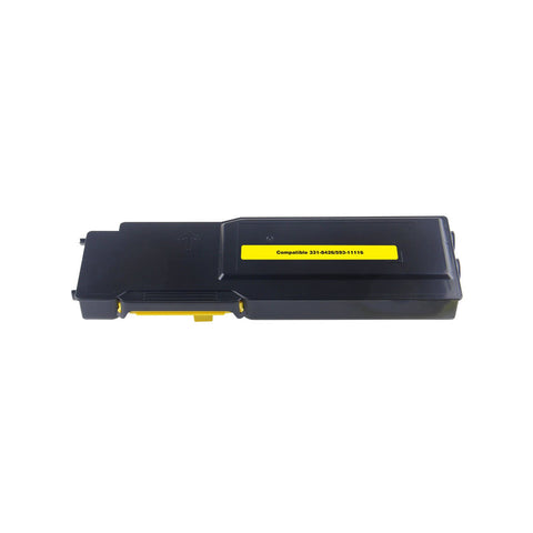 Compatible Dell 331-8430 Yellow Toner Cartridge High Yield For Dell C3760 / C3765