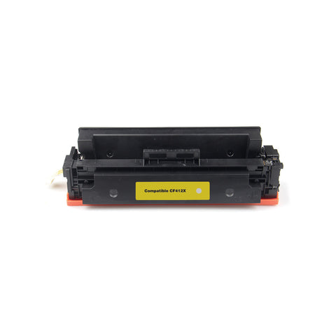 Compatible HP CF412X Yellow Toner Cartridge High Yield