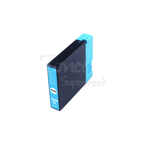 Compatible CANON PGI-2200XL (9268B001) Cyan INK / INKJET Cartridge