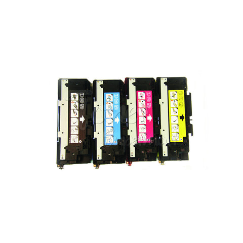 Remanufactured HP 3500/3700 Laser Toner Cartridge Set Black/Cyan/Magenta/Yellow