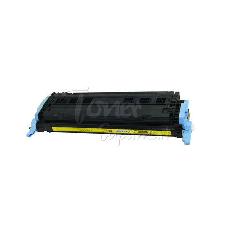 Compatible HP 124A Yellow Laser Toner Cartridge