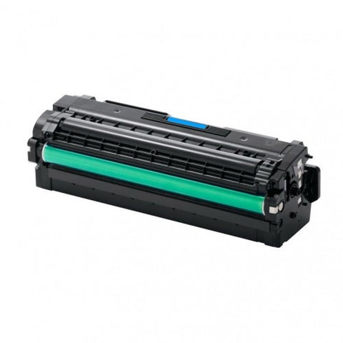 Compatible SAMSUNG CLT-C505L Cyan High Yield Laser Toner Cartridge